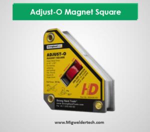 Best Welding Magnets: Adjust-O Magnet Square