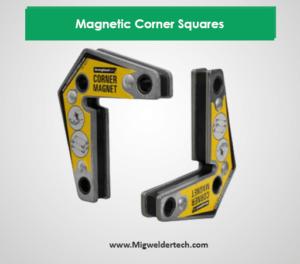 Magnetic Corner Squares for Welding