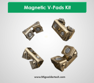 Strong Hand Tools - Magnetic V-Pads Kit: Welding Magnets