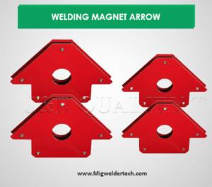 6 PC WELDING MAGNET ARROW