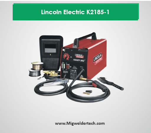 Lincoln Electric K2185-1 - Best for 300 Dollar Mig