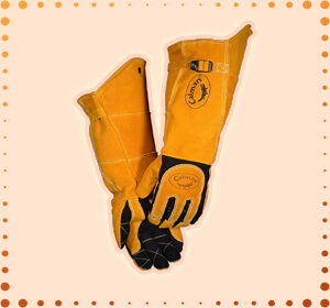 Caiman 21-Inch Gloves Welding