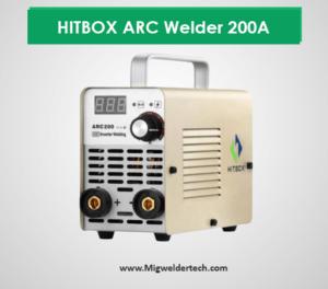 HITBOX ARC Welder 200A Stick