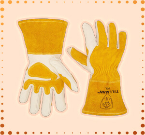 John Tillman and Co 50L Top Grain Leather MIG Gloves