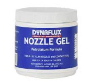 Welding nozzle gel